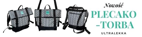 Nowość - plecako-torba do wózka